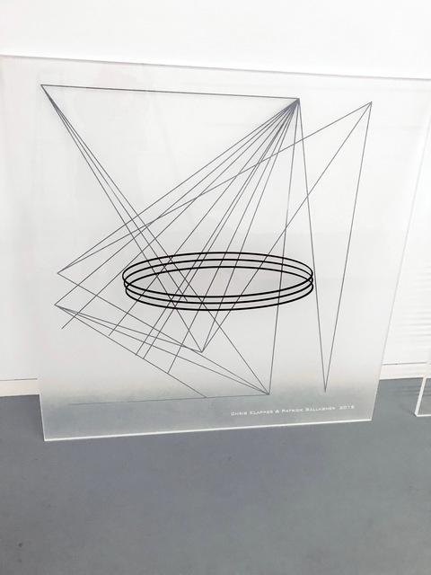 , 'Point, Line and Plane ,' 2018, ODETTA