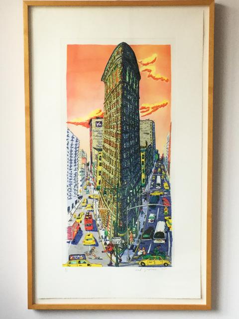 Red Grooms, 'Flatiron Building', 1995, Sigrid Freundorfer Fine Art