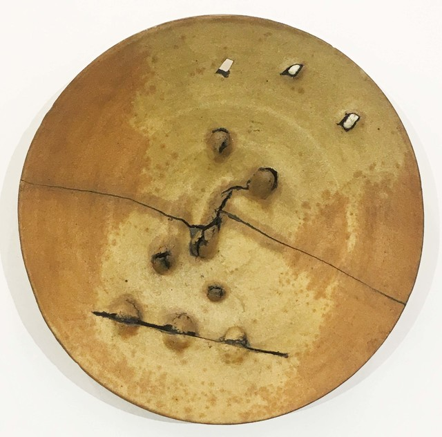 Peter Voulkos, 'Untitled Plate', 1973, Malin Gallery