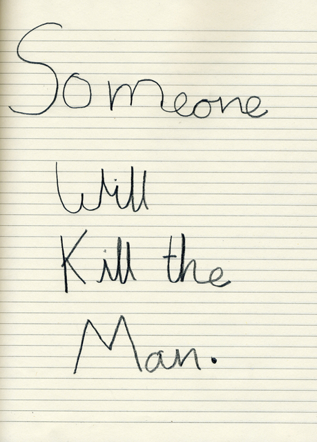 , 'Someone Will Kill the Man,' 2008, Art Bärtschi & Cie | Geneva, Switzerland