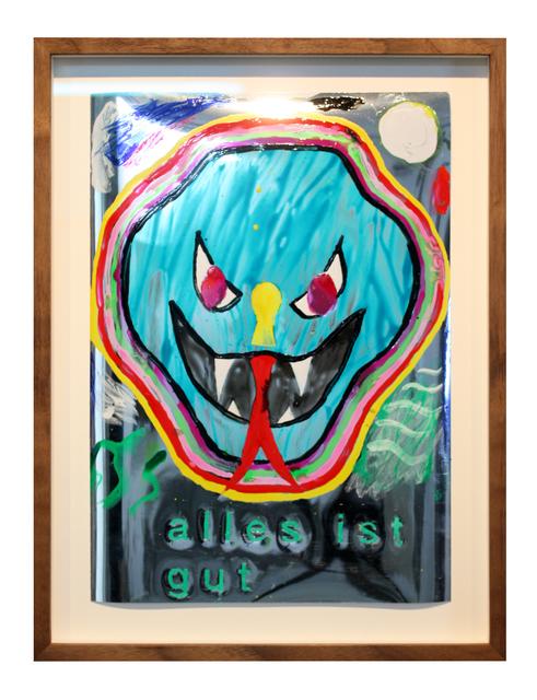 , 'Maske 3,' 2018, Galerie Judith Andreae