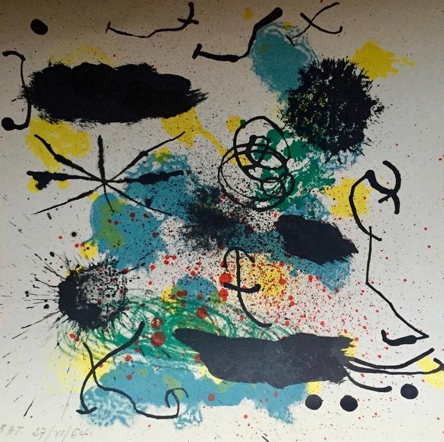 Joan Miró, 'Je travaille comme un jardinier', 1964, Smith Andersen North
