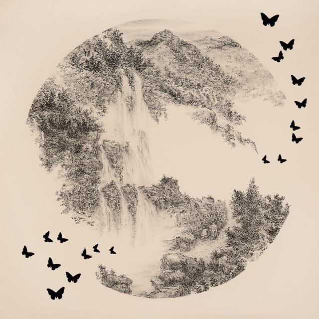 , '< Taiwan Wulai Falls > < 台灣烏來瀑布 >,' 2016, Artify Gallery