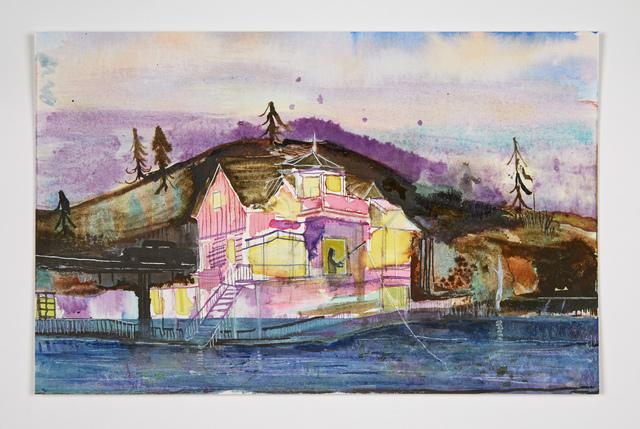 , 'Traphouse Fishing,,' 2016, Josh Lilley