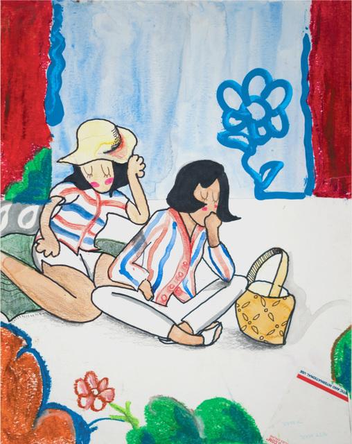 Danny Brown, 'Se Preparo', 2019, Painting, Mixed Media on Paper, Artspace Warehouse