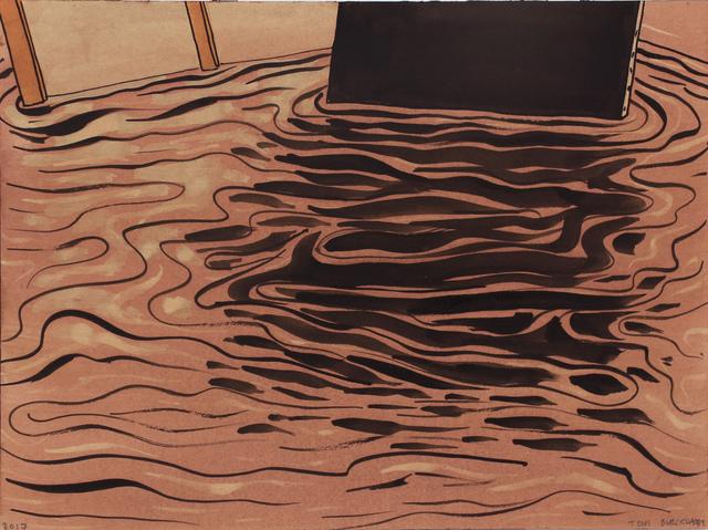 , 'Black Monochrome (Reflection),' 2017, Pierogi
