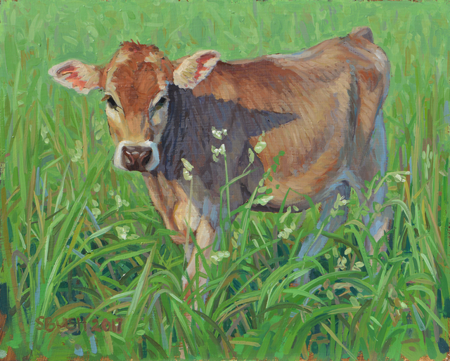 , 'Cow Study 27,' , West Branch Gallery