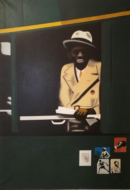 , 'Panama Al Brown,' 1972, Galerie du Griffon
