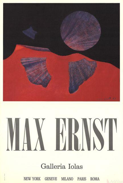 Max Ernst, 'Galleria Iolas', (Date unknown), ArtWise
