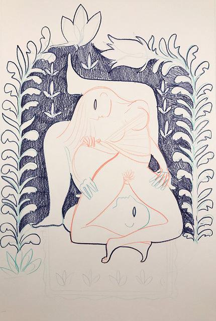 , 'Lover's Adoration,' 2016, OLSEN GALLERY