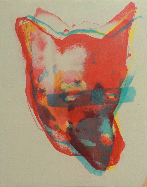 , 'Disagreeable Coyote #9 or 6,' 2016, Albert Merola Gallery