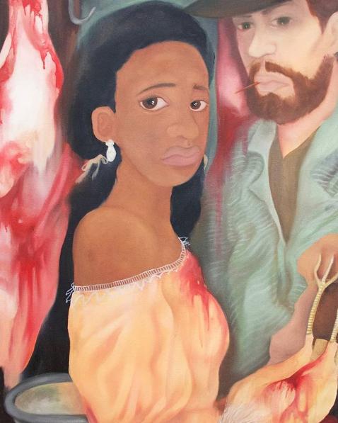 , 'Meat,' 2017, David Lusk Gallery