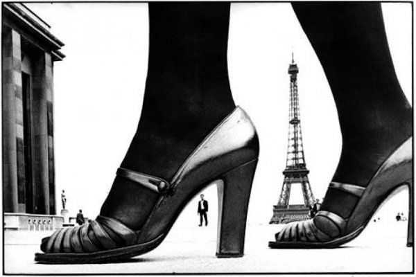 Paris Shoe and Eiffel Tower A,