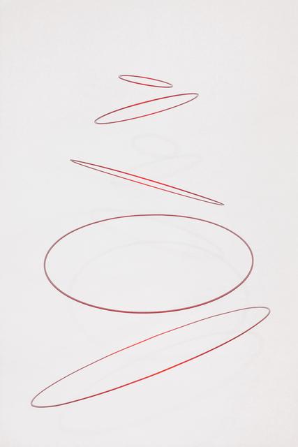 , 'Circuconcéntricos Alu Rouge-50,' 2018, Galería RGR
