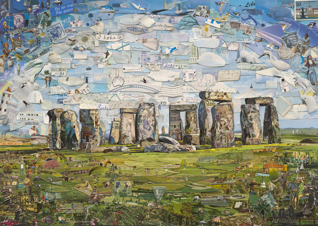 , 'Stonehenge (Postcards from Nowhere),' 2015, Ben Brown Fine Arts