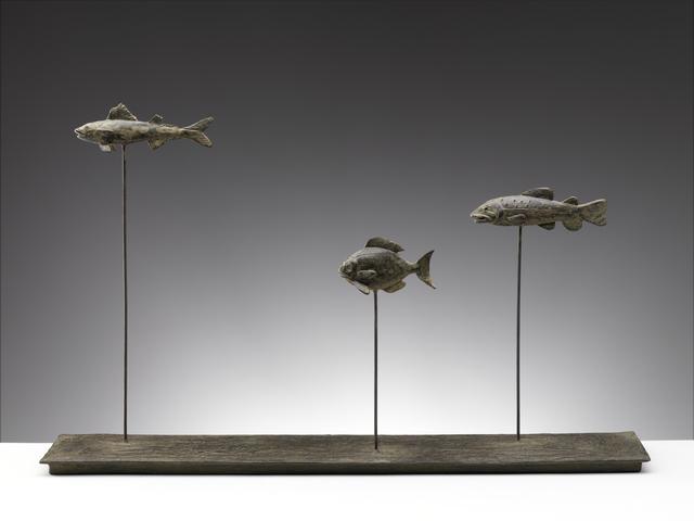 , 'Via del Fosso (Three fish),' 2015, Sladmore Contemporary
