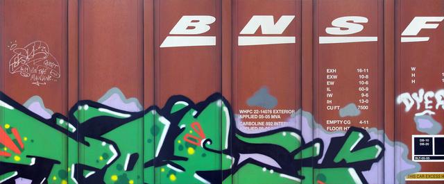 , 'Blank Canvas #88 - BNSF & Blank Canvas #89 - BNSF,' 2019, Roman Fine Art