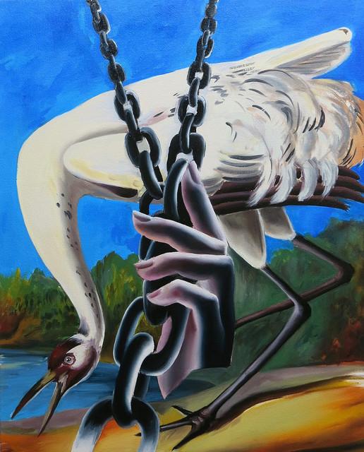 , 'Héron et chaînes,' , Arusha Gallery
