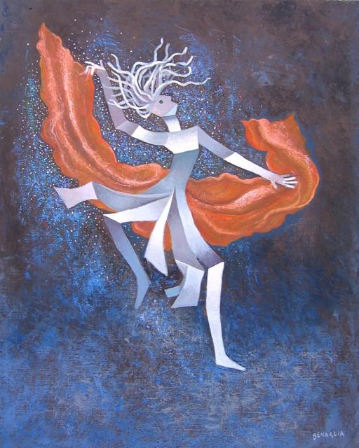 , 'Danza popolare / Folk dance,' 2009, Galleria Edarcom Europa