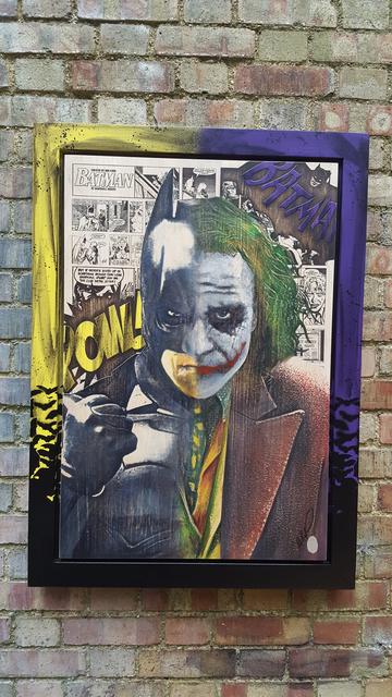 , 'Batman / Joker,' 2018, Reem Gallery