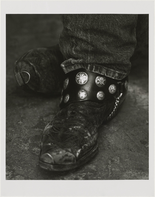, 'Bruce Springsteen (Detail II), New York,' 1992, Museum of Fine Arts, Boston