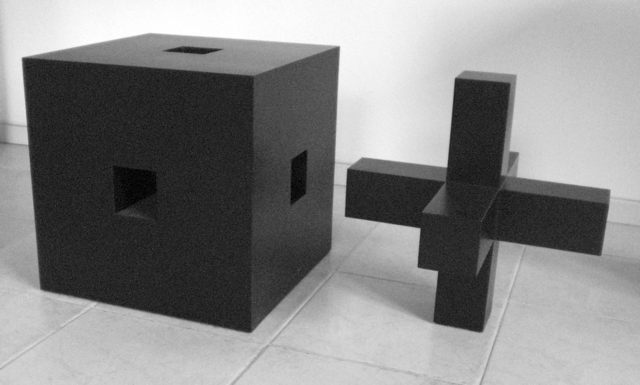 Ewerdt Hilgemann, ''Cube Structure'', ca. 1972, BorzoGallery