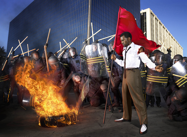 , 'Kanye West: Riot,' 2006, Staley-Wise Gallery