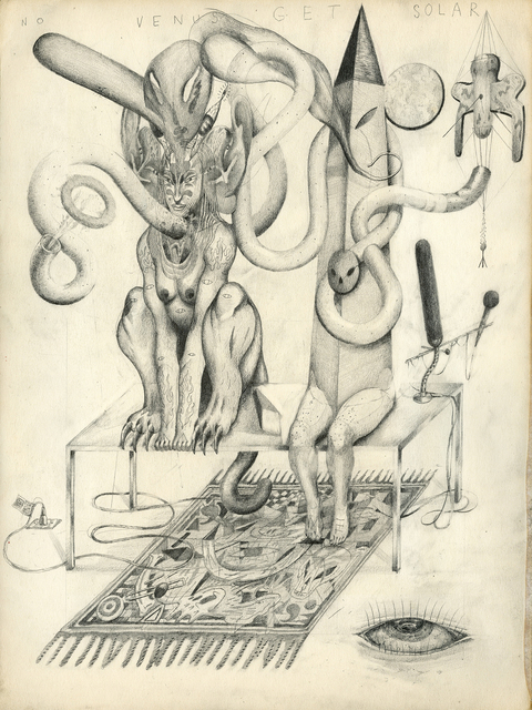 , 'Sphinx & Obelisk Radio Show,' 2015, Patrick Parrish Gallery