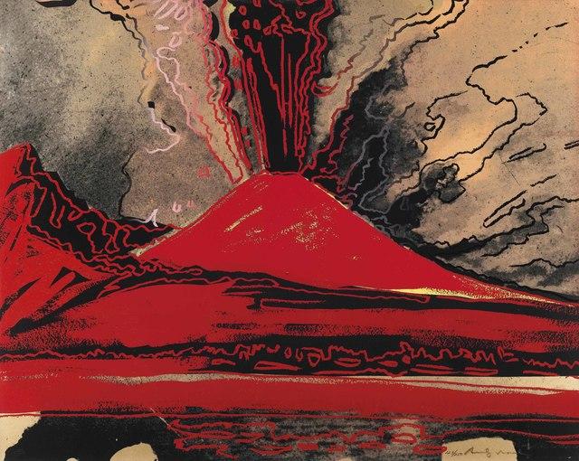 Andy Warhol, 'Vesuvius', 1985, Zeit Contemporary Art