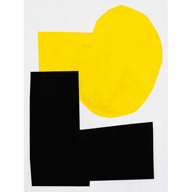 , 'Yellow I,' 2016, Tappan