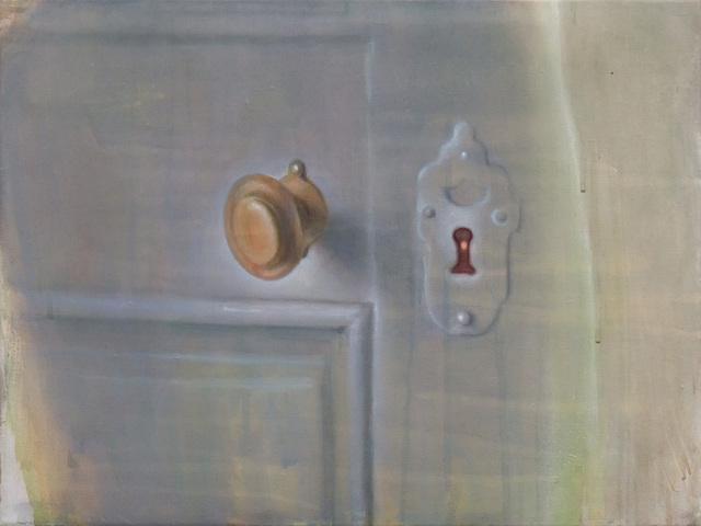 , 'Schlüsselloch,' 2016, Galerie Heike Strelow
