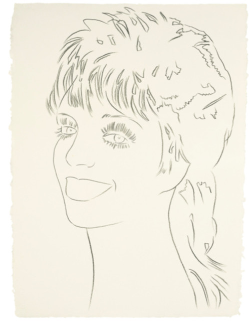 Andy Warhol, 'Liza Minnelli', ca. 1978, Drawing, Collage or other Work on Paper, Graphite on HMP Paper, Hedges Projects