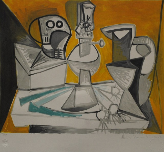 Pablo Picasso, 'Tete de Mort, Lampe, Cruches at Poireaux', 1979-1982, Golden Eagle Art Gallery