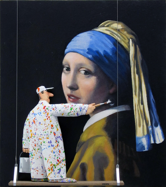 , 'The Girl with the Pearl Earring (Vermeer),' 2015, Zenith Gallery