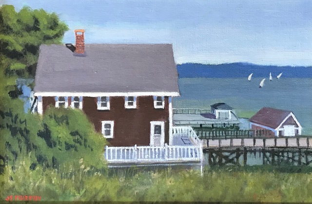 , 'Peaceful Labor Day,' , Addison Art Gallery