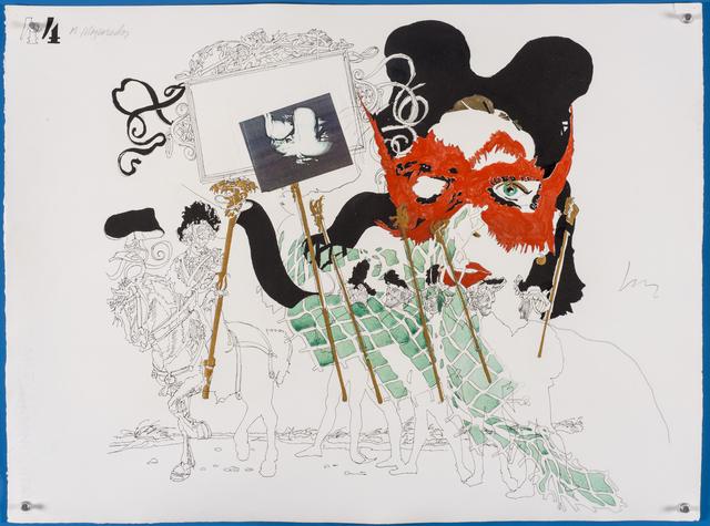 , 'Os mascarados - 44 ,' 1966, Galeria de Arte Ipanema