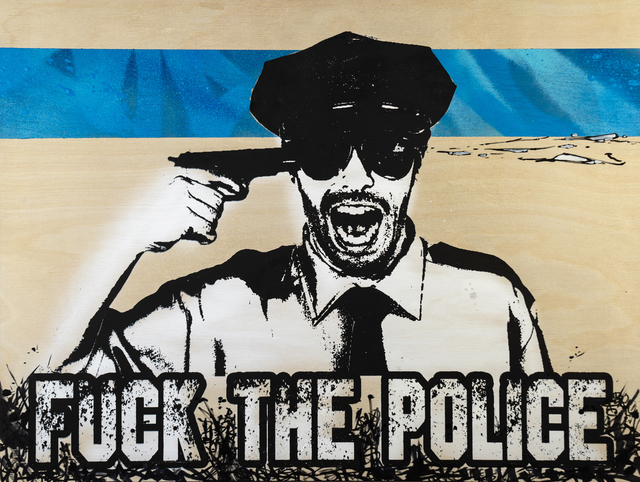 , 'Fuck the Police #4,' 2019, EWKUKS
