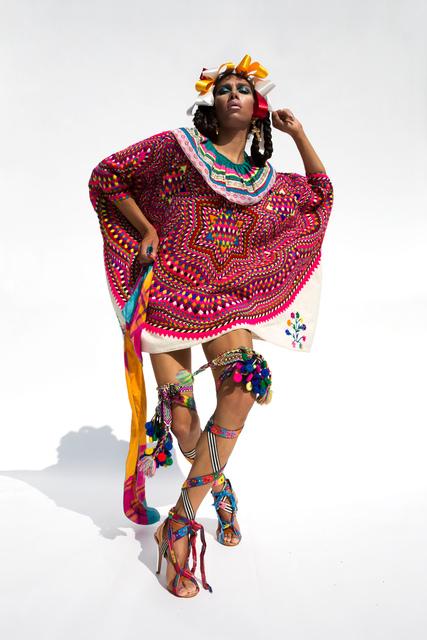 Martine Gutierrez, 'Neo-Indeo, Chuj Mini Gag, p25 from Indigenous Woman', 2018, RYAN LEE