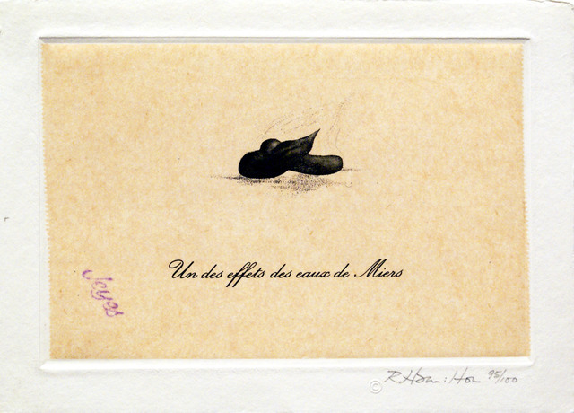 , 'Un des Effets des Eaux de Miers (from eighteen small prints),' 1973, Bernard Jacobson Gallery