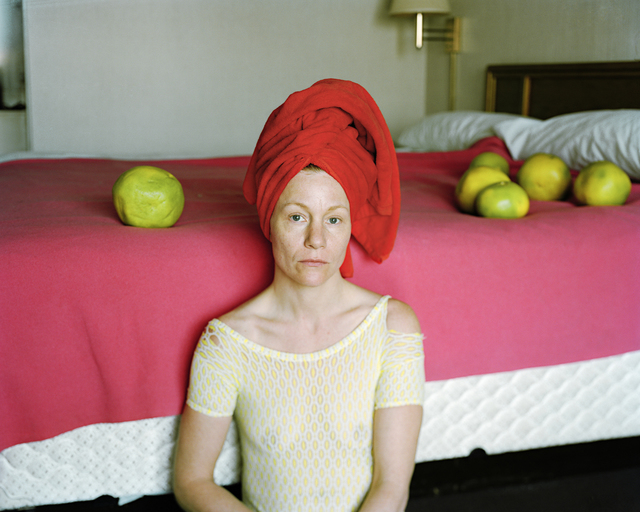, 'Lynn with Red Towel,' 2009, Candela Gallery