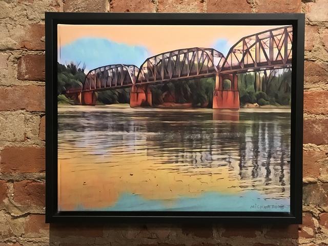 , 'Rural Posey County Road,' 2018, Mason-Nordgauer Fine Arts Gallery