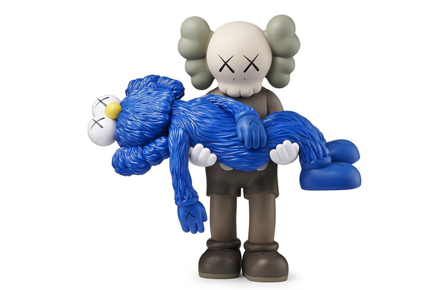 KAWS, 'Gone (Blue)', 2019, Curator Style