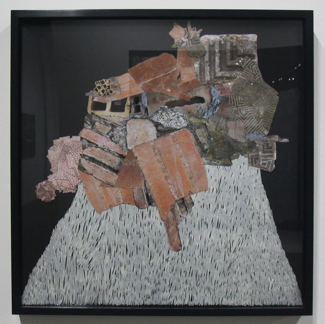 , 'Sculpture made with Rubble from the Streets of Calabria,' 2018, DENK Gallery