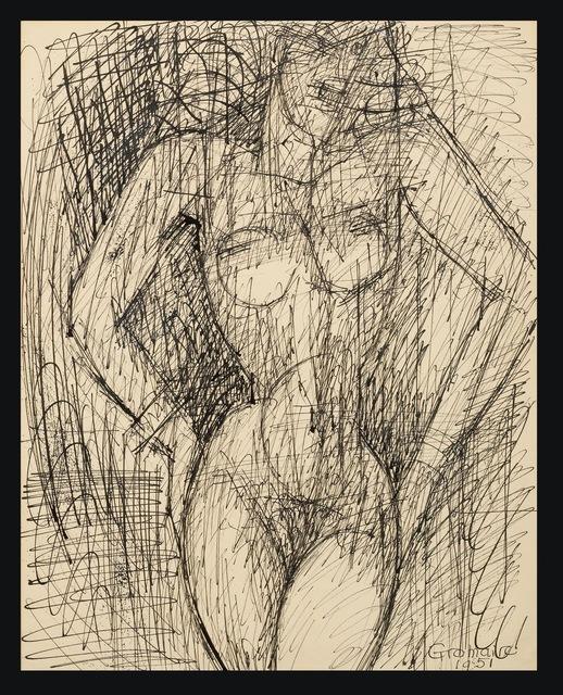 , 'Nu Debout,' 1951, Galerie de Souzy