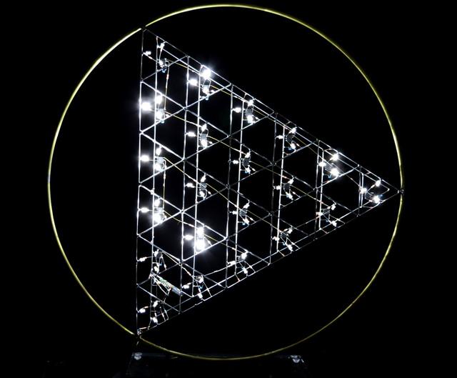 Alain Le Boucher, 'Triangles Instables', 2017, Galerie Olivier Waltman | Waltman Ortega Fine Art
