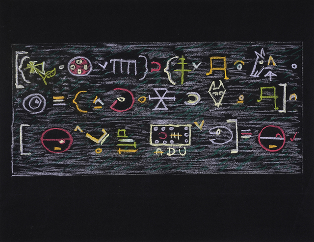 , 'Untitled (logic),' 1960's, Charles Nodrum Gallery