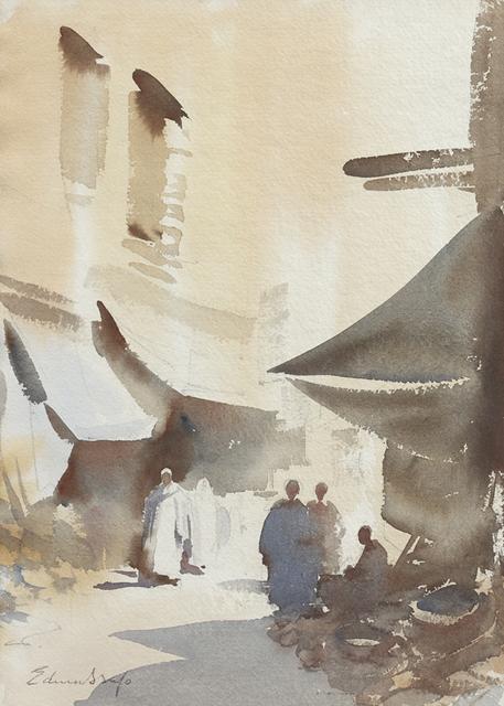 , 'The Basket Seller, Essaouira, Morocco,' , Portland Gallery