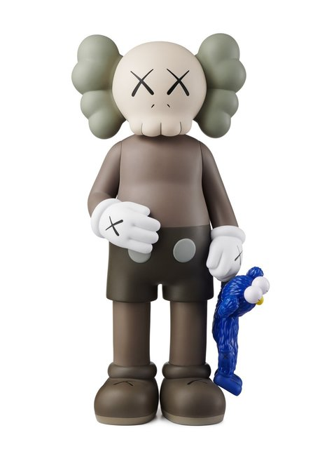 KAWS, 'Share (Brown)', 2020, Sculpture, Painted cast vinyl, Lougher Contemporary