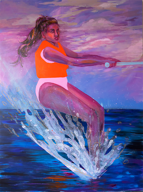 , 'Water Skier,' 2017, HATHAWAY | Contemporary Gallery
