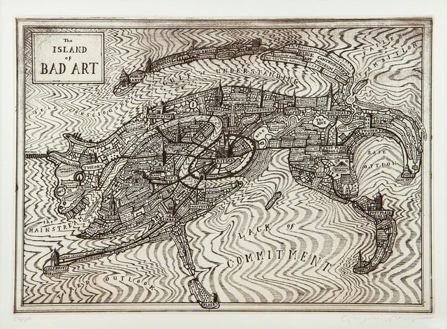 Grayson Perry, 'Island of Bad Art', 2013, Oliver Clatworthy